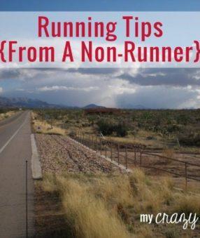 Running Tips From A Non-Runner