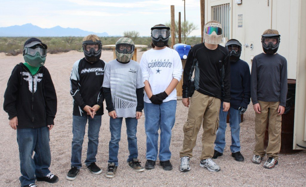 toxic airsoft birthday party tucson