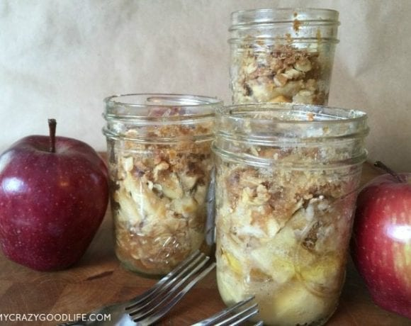 Recipe for Apple Crisp In A Jar: A great gift!