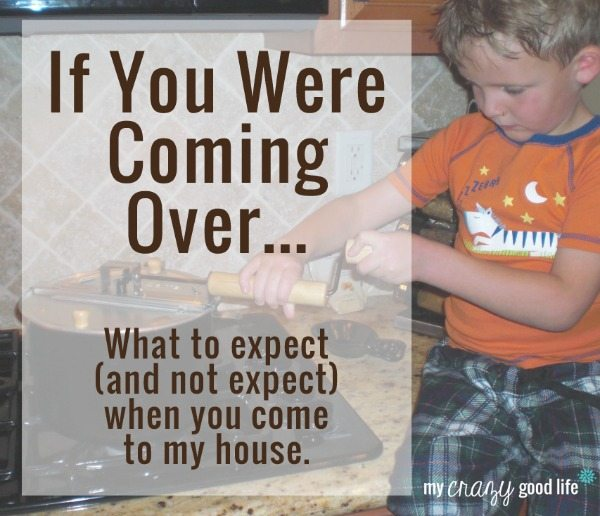 If You Were Coming Over…