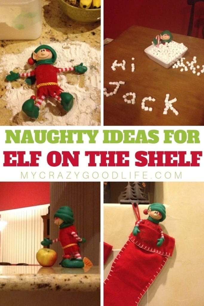 Meet Louie, or Elf on the Shelf! We have some naughty elf on the shelf ideas for your elf on a shelf! Kids love helping with the elf, too! These naughty elf on the shelf ideas are so much fun for the whole family. They're even great for after your little ones are done believing in your elf. Naughty Elf on the Shelf Ideas | Elf on the Shelf Ideas | Naughty Elf on the Shelf Ideas for The Whole Family