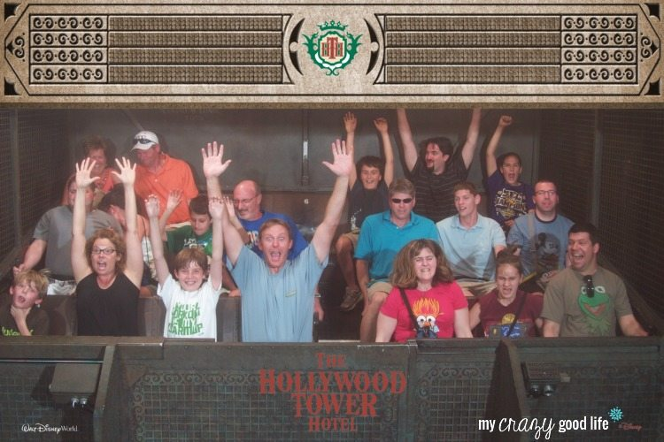 Scared on Tower of Terror