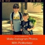 Make Instagram Photos With PicMonkey {A Tutorial}