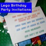 Unassembled Lego Birthday Invitations {A Tutorial}