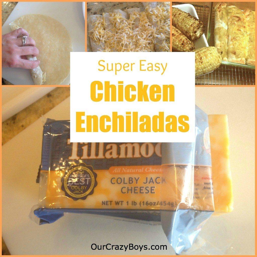 Chicken Enchilada Recipe – Back To School With Tillamook