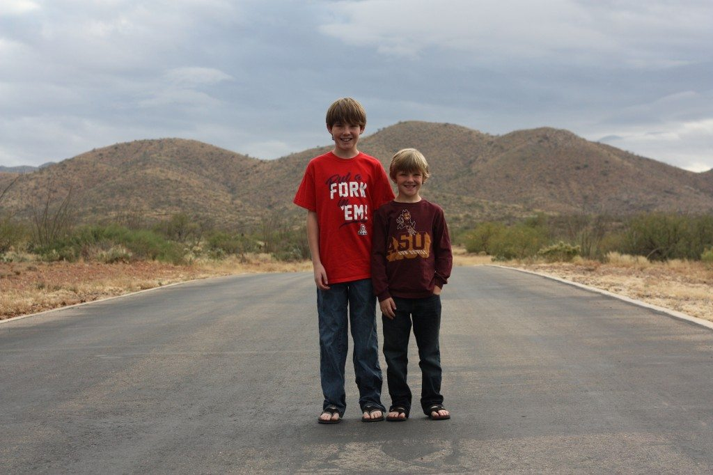 Holiday Family Photos With Tweens
