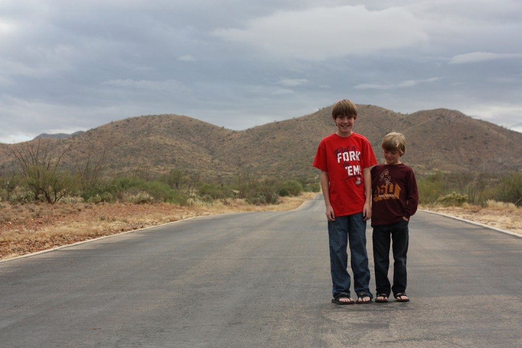 Holiday Photos with tweens