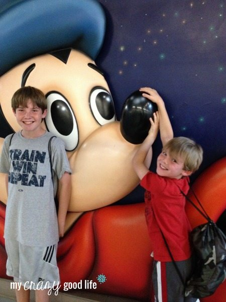 Crazy Boys at Disney World
