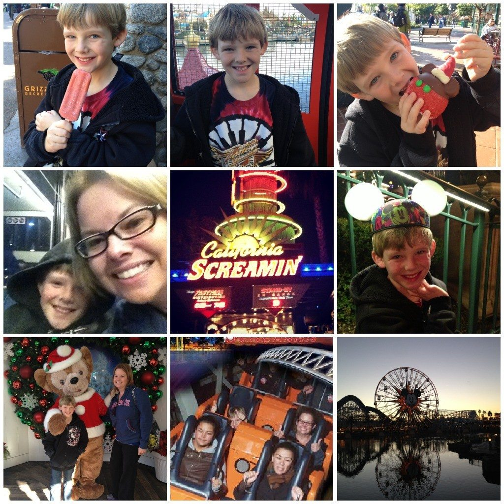 A Mom and Son Date At California Adventure!