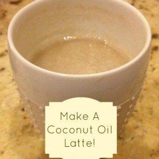 Coconut Oil Latte