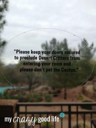 Desert Warning