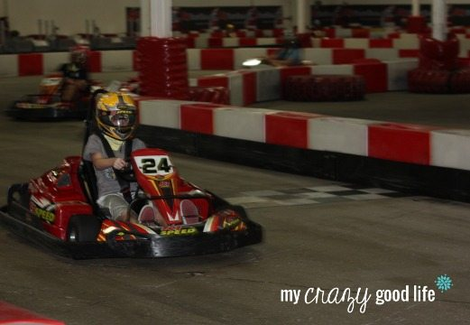 Michael at K1 Speed in Scottsdale