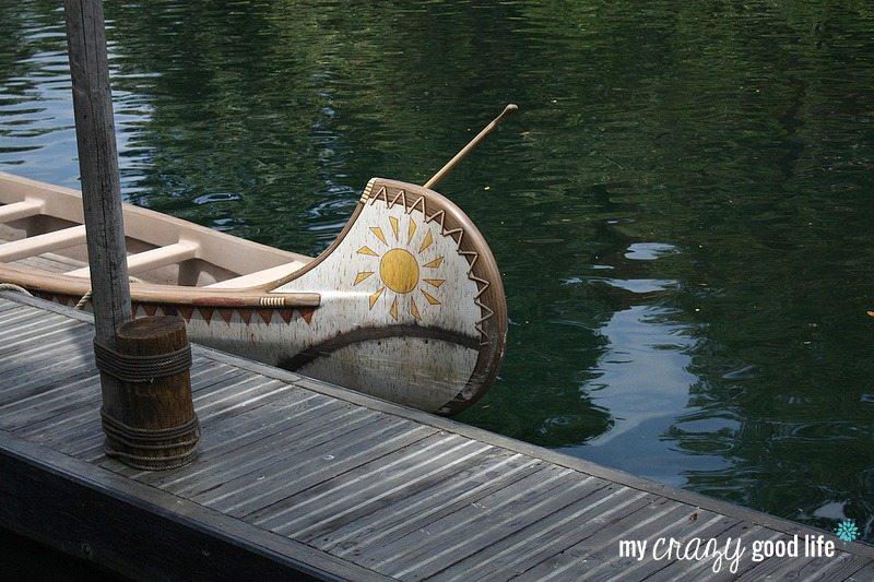 Disneyland Rides for Tweens - Davy Crockett Explorer Canoe