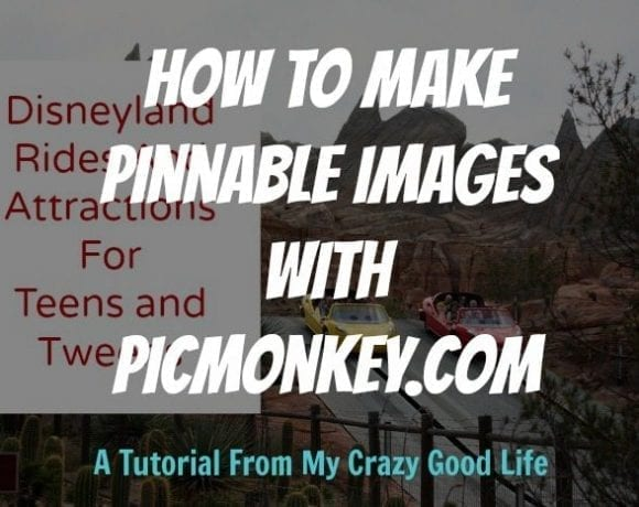 How To Make Pinnable Images With PicMonkey