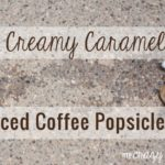 Too hot for coffee? These delicious caramel iced coffee popsicles are the perfect summer treat!