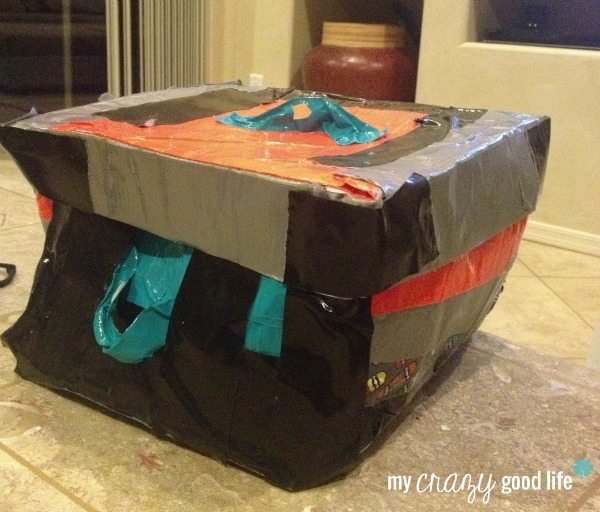 Duct Tape Craft Ideas: Gift Box