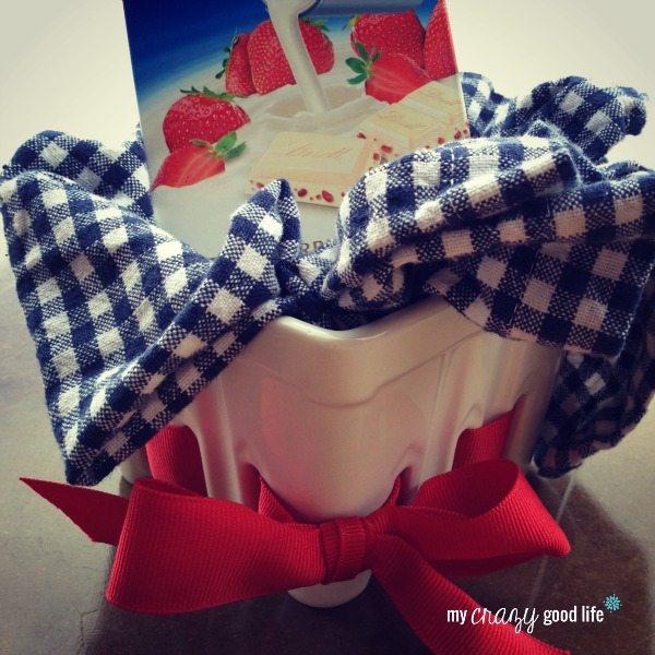 Lindt Strawberries & cream