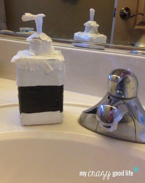 Duct Tape Soap Dispenser