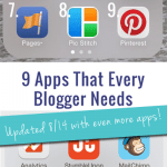 The 9 Must-Have Apps for Bloggers: Updated with more apps!
