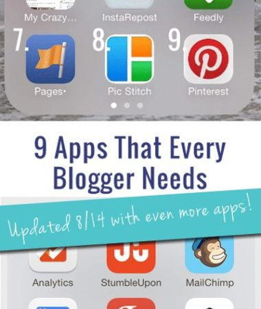 Must-Have Apps for Bloggers: Updated with even more apps!