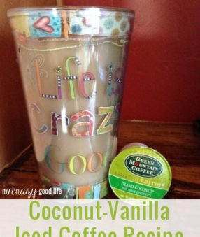 Coconut-Vanilla Iced Coffee Recipe
