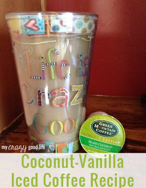 Coconut Vanilla Iced Coffee Recipe