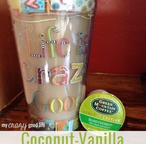 Coconut-Vanilla Iced Coffee Recipe