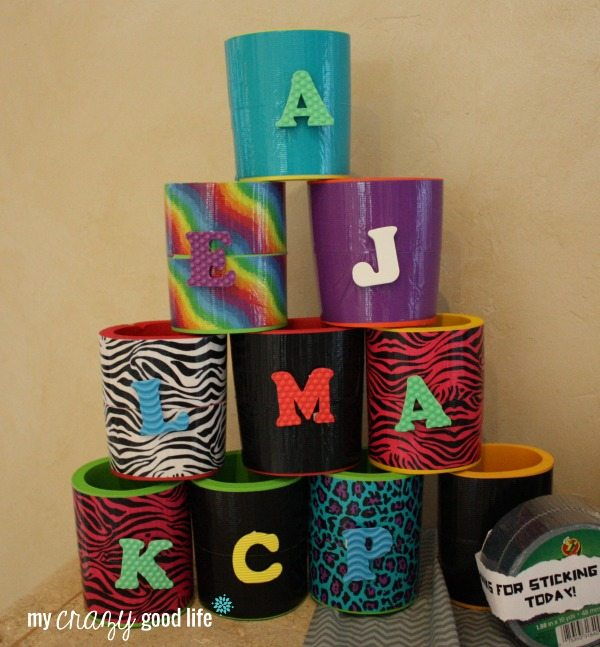 Duct Tape Party Favors