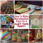 Marshmallow Pops For A Duct Tape Party