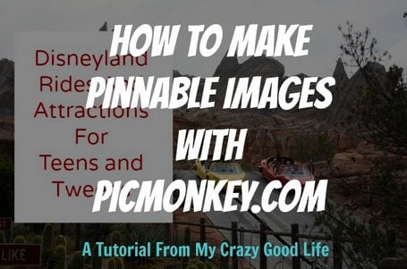 How To Make A Pinnable Image With PicMonkey