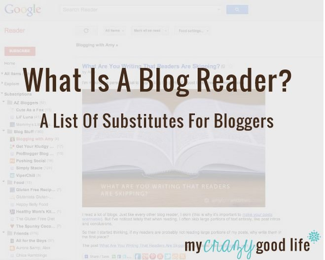 List of blog readers