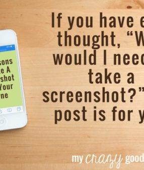 30 Reasons To Take A Screenshot