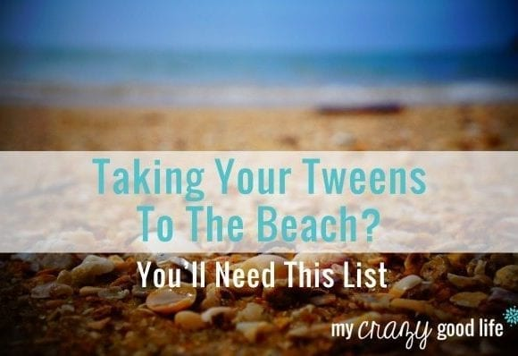 Packing For The Beach With Tweens