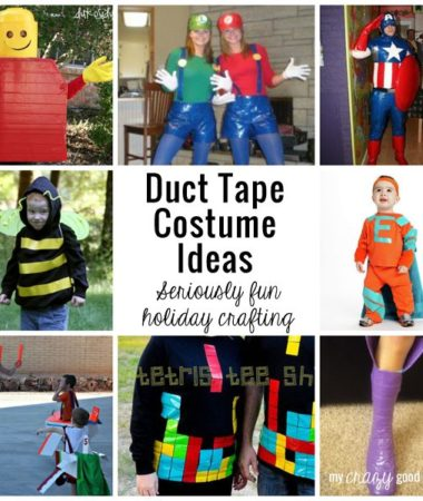 Duct Tape Costume Ideas