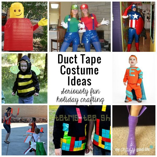 Duct Tape Halloween Costumes