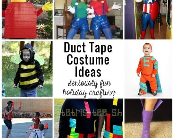 Duct Tape Costume Ideas