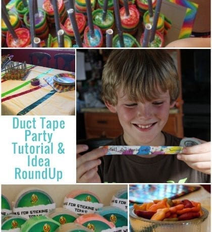 Duct Tape Party Tips And Idea Roundup