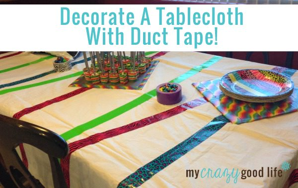 Duct Tape Party Tablecloth