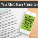 Does Your Child Have A Smartphone? {Printable Cell Phone Contract For Kids}