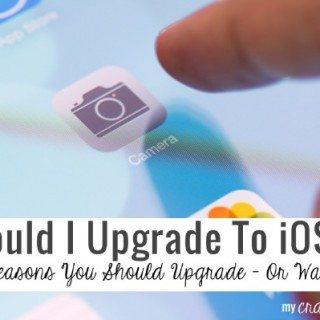 Should I Upgrade To iOS7?