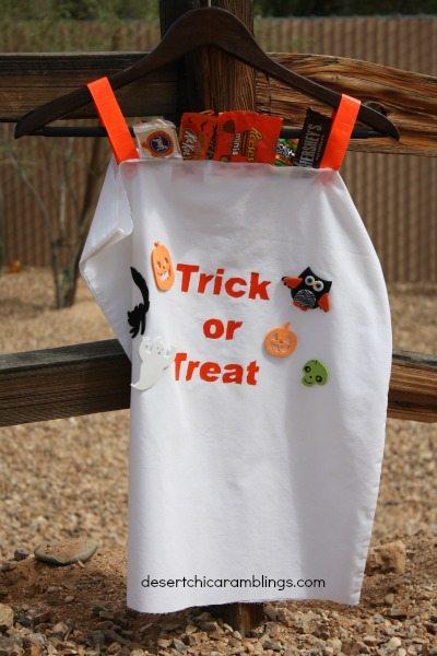 Candy Bag Costume - DIY Tween Boy Costume