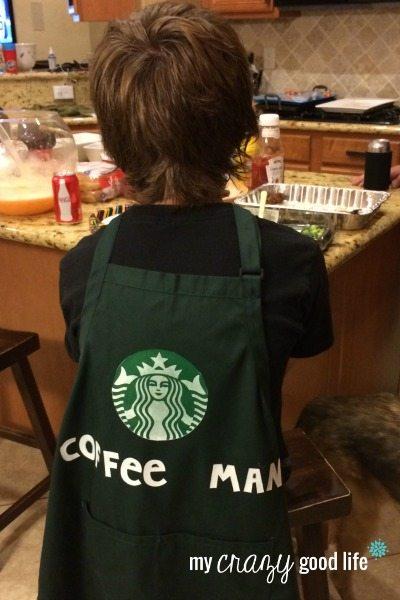 Coffee Man Superhero