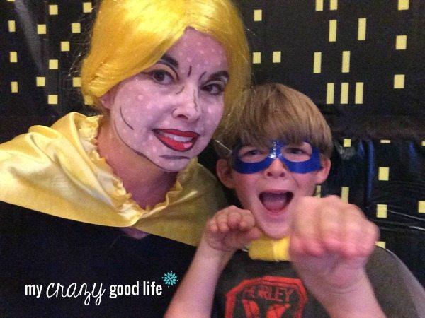 Family Halloween Costumes: Comic Book Superhero