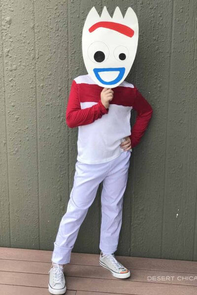 Diy tween boy halloween costume idea: dorky