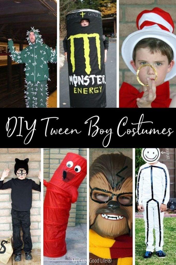 Pin for diy tween boy costume ideas