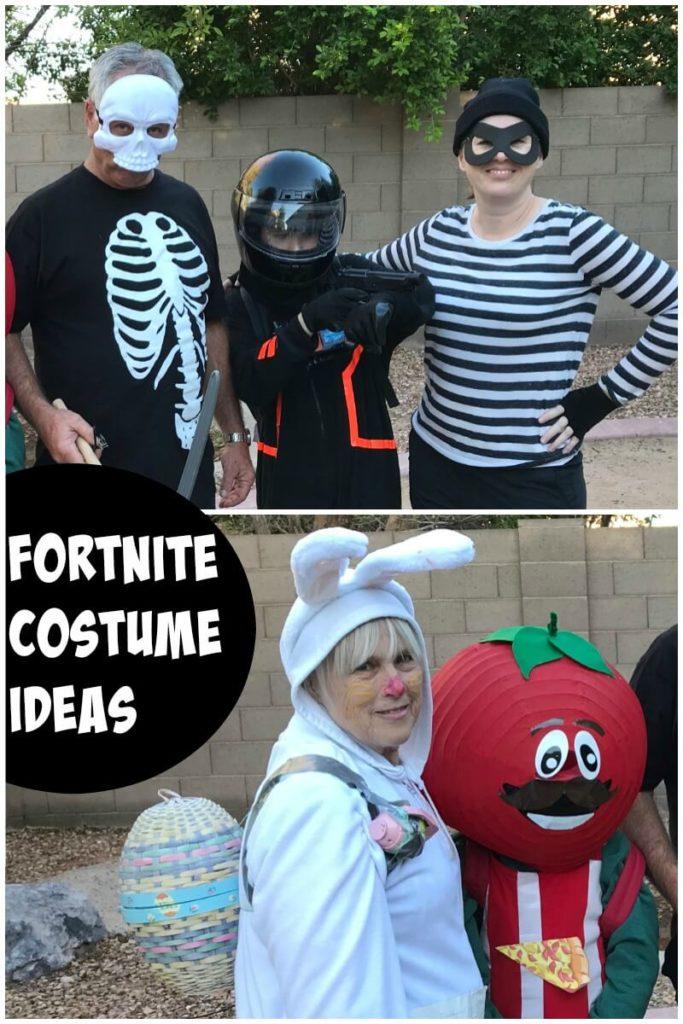 Fortnite costume ideas for Halloween.