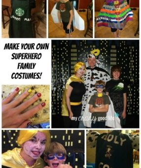 Family Halloween Costumes: Make Your Own Superhero