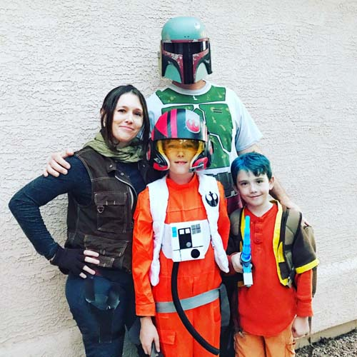 DIY Star Wars Family Costume
