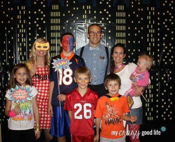 Family Halloween Costumes: Make Your Own Superhero