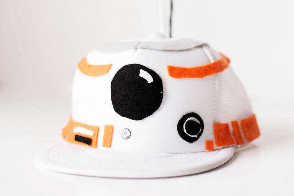 DIY Tween Boy Costume Idea: BB-8